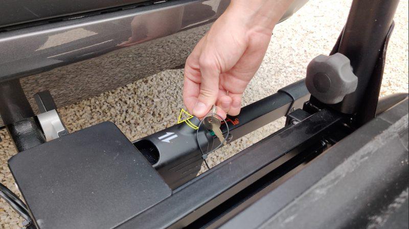 Locking with the key